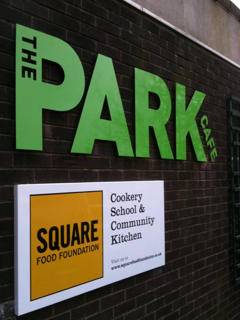 The Park Cafe Storefront Designs