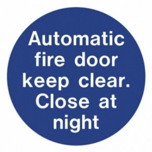 auto_fire_door_close_at_night
