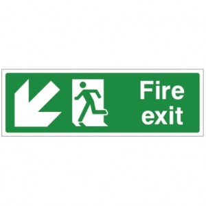 jaysigns-fire_exit_down_left