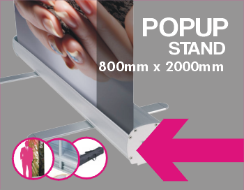 Pop Up Stand Banner